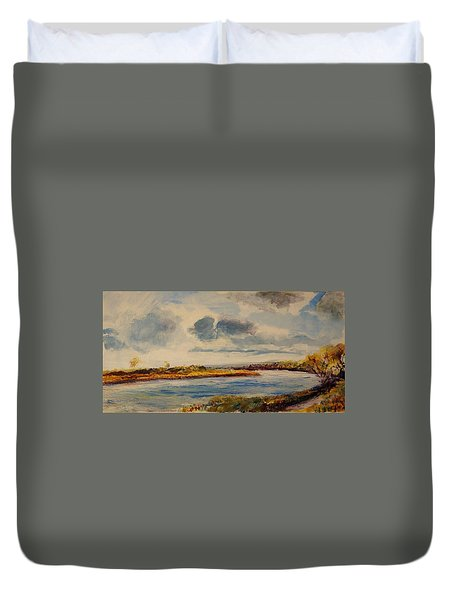 Missouri River Duvet Cover
