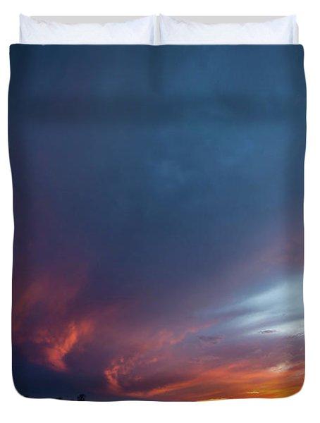 Missouri Sunset Duvet Cover