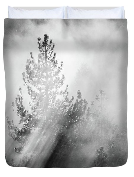 Mist Shadows Duvet Cover