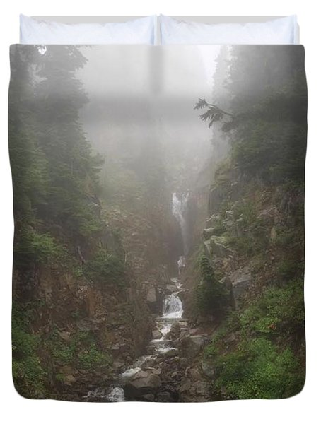 Misted Waterfall Duvet Cover