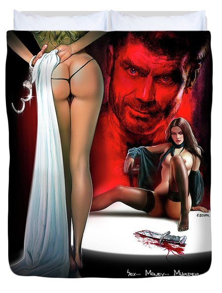 Mister Dissolute Poster B Duvet Cover