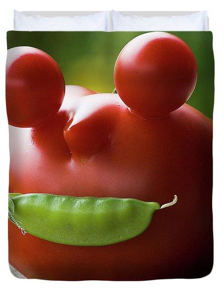 Mister Tomato Duvet Cover
