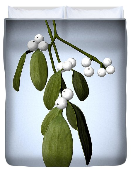 Mistletoe Duvet Cover