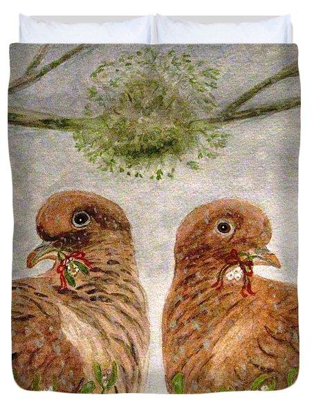 Mistletoe Magic Duvet Cover