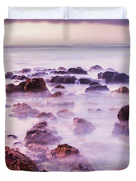 Misty Bay Duvet Cover