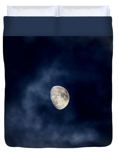 Blue Vapor Duvet Cover