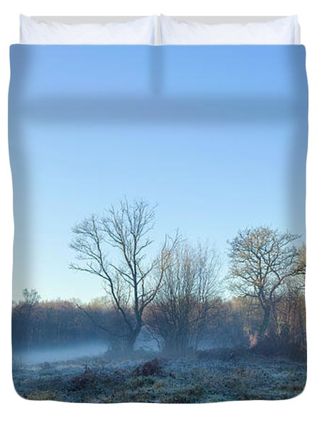 Misty Clearing Duvet Cover