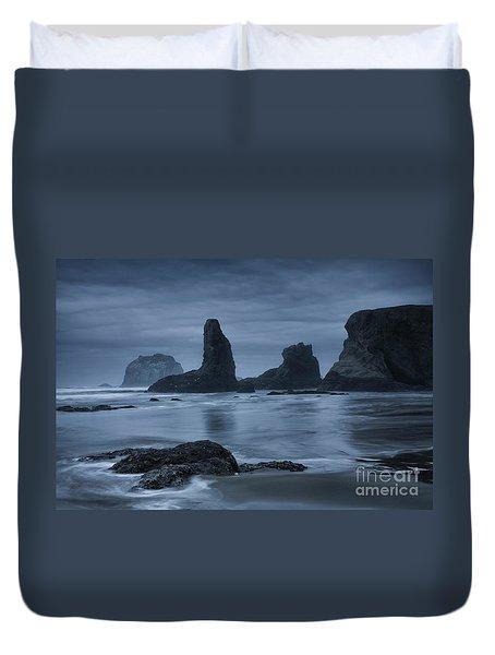 Misty Coast Duvet Cover