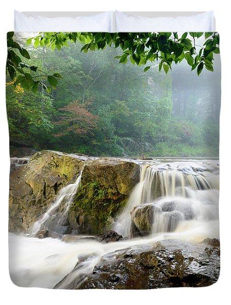 Misty Creek Duvet Cover