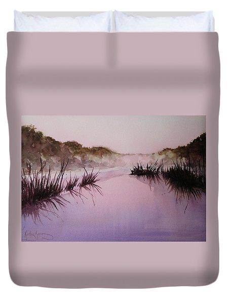 Misty Dawn Duvet Cover