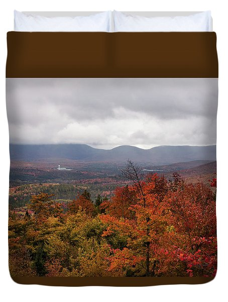 Misty Fall Colors Of Milan Nh Duvet Cover
