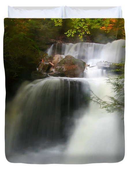 Misty Fall Duvet Cover
