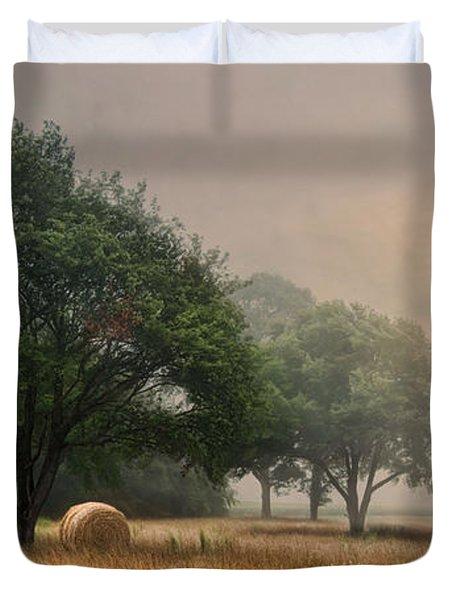 Misty Fields Duvet Cover