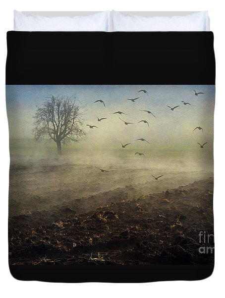 Misty Meadows Duvet Cover