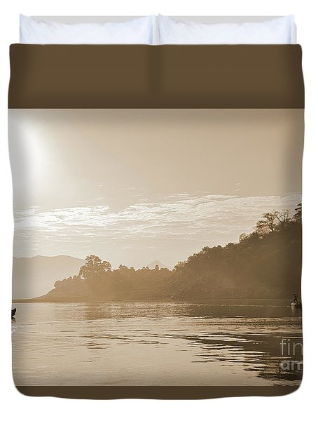 Misty Morning 2 Duvet Cover by Kiran Joshi