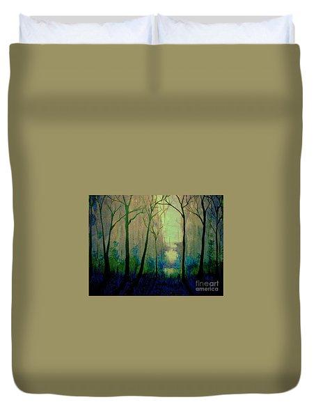 Misty Morning 2 Duvet Cover