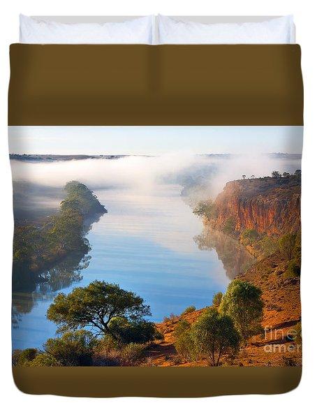 Misty Morning Duvet Cover by Bill  Robinson
