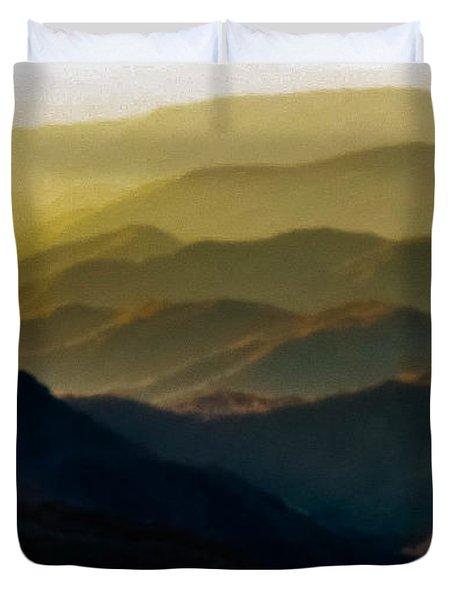 Misty Morning Duvet Cover