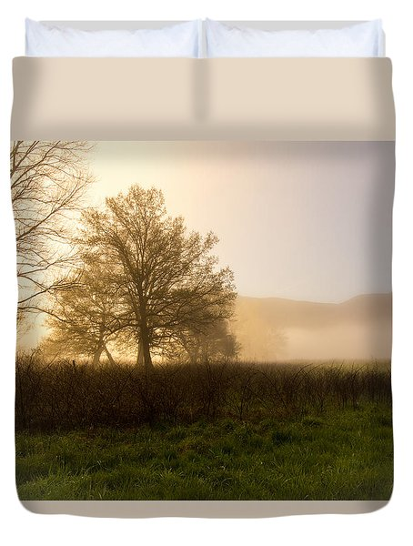 Misty Morning Duvet Cover