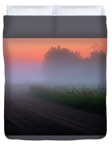 Misty Mornings Duvet Cover