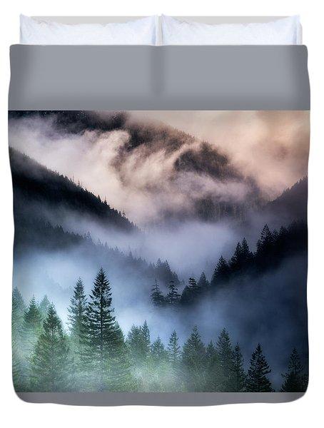 Misty Mornings Duvet Cover