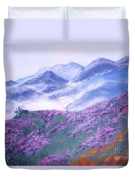 Misty Mountain Hop Duvet Cover