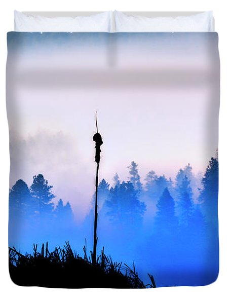 Misty Mountain Hop Duvet Cover