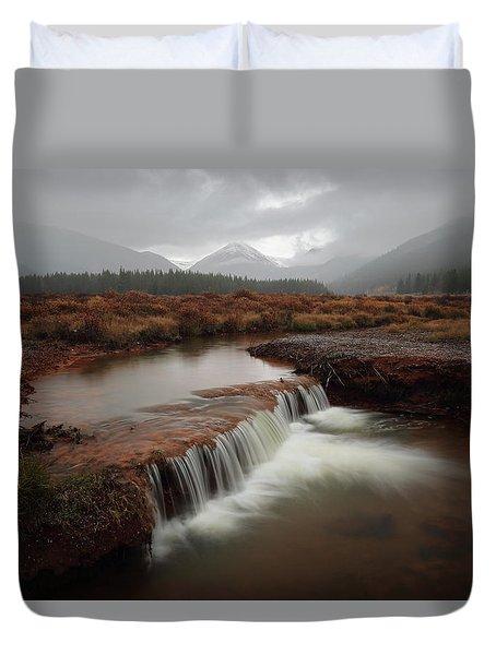 Misty Mountain Majesty  Duvet Cover