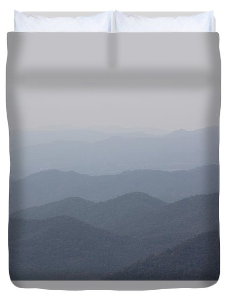 Misty Mountains Duvet Cover