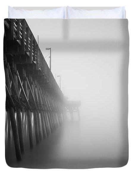 Misty November Morning II Duvet Cover