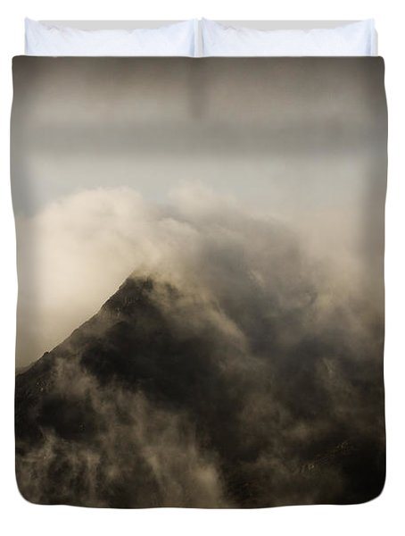 Misty Peak Duvet Cover