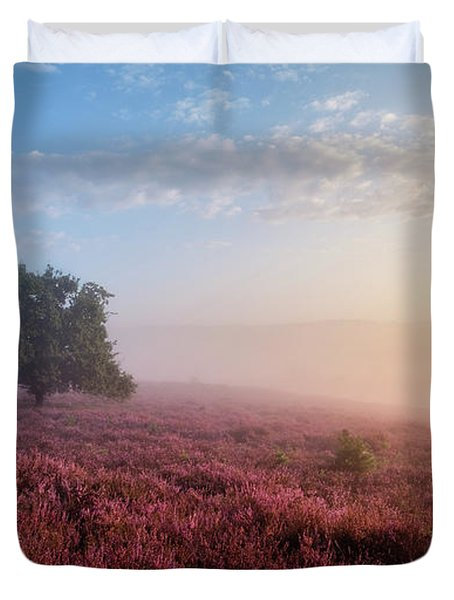 Misty Posbank Duvet Cover