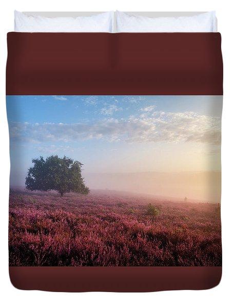 Misty Posbank Duvet Cover