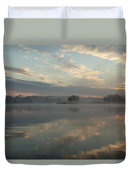 Misty Reflections Duvet Cover