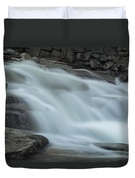 Misty Stickney Brook Duvet Cover by Tom Singleton