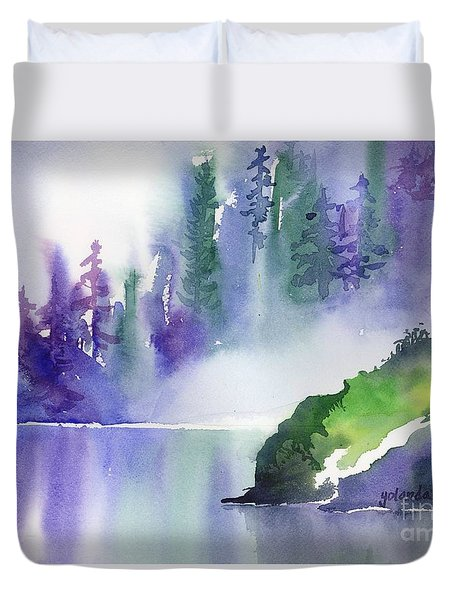 Misty Summer Duvet Cover by Yolanda Koh