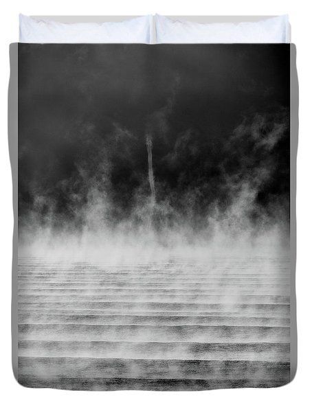 Misty Twister Duvet Cover
