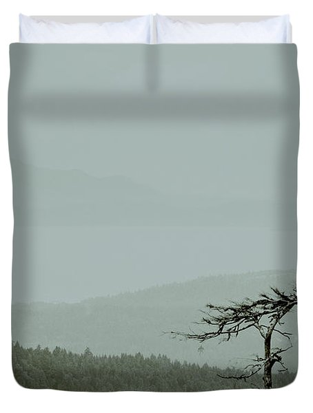 Misty View Duvet Cover