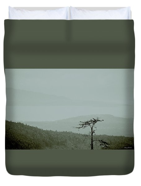 Misty View Duvet Cover