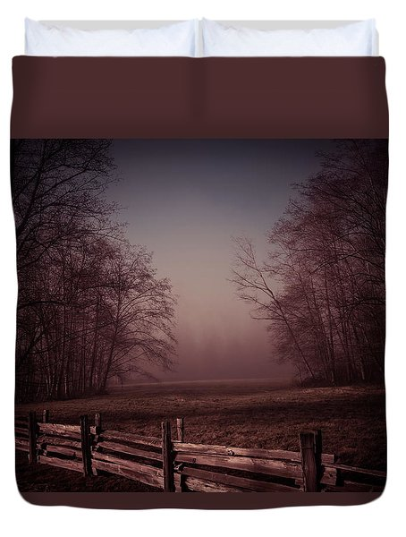 Misty Walk Duvet Cover