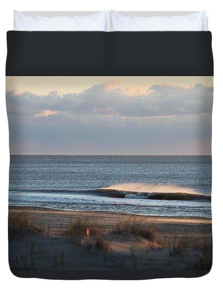 Misty Waves Duvet Cover