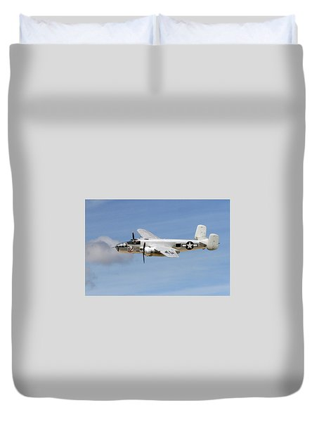 Mitchell In The Sky Duvet Cover