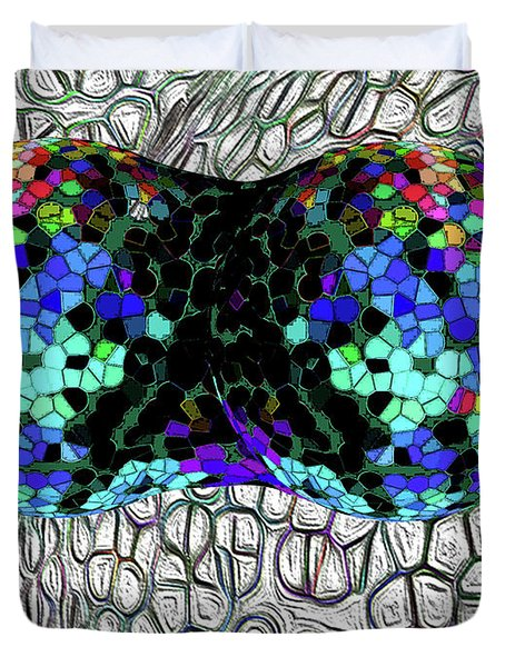 Mitosis Between Consenting Cells Duvet Cover by Bruce Iorio