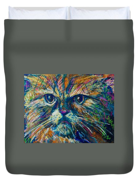 Mixed Feelings Duvet Cover