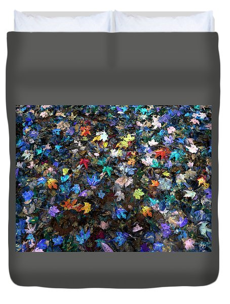 Mixed Maples Langdon Woods Duvet Cover