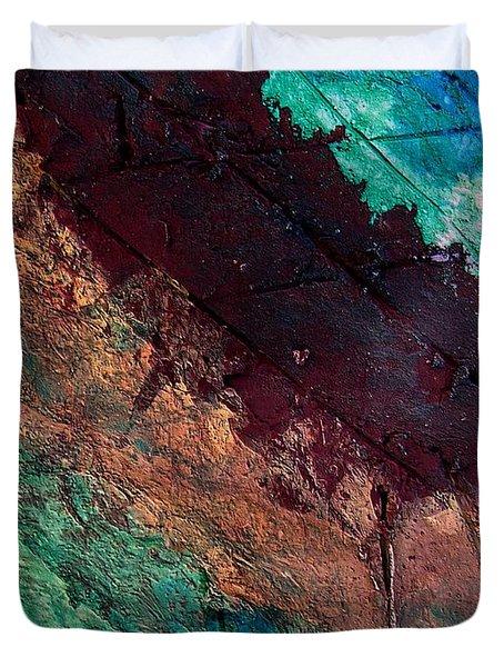 Mixed Media 04 By Rafi Talby Duvet Cover by Rafi Talby