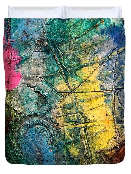 Mixed Media 11 By Rafi Talby Duvet Cover by Rafi Talby