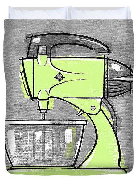 Mixer Lime Duvet Cover