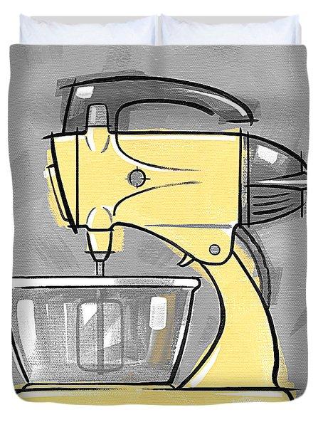 Mixer Yellow Duvet Cover
