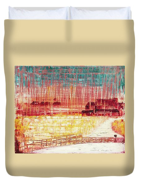 Mixville Road Duvet Cover